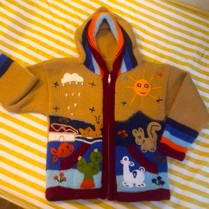 Kids funky sweater